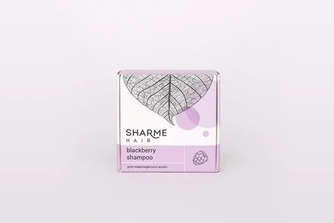 Натуральный твердый шампунь Sharme Hair Blackberry (ежевика) Гринвей купить в Санкт-Петербурге, цена
